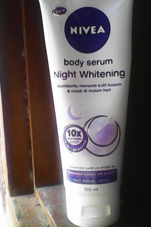 nivea night serum review